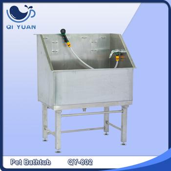 High Quality Stainless Steel Pet Grooming BathtubDog Bathtub Qy