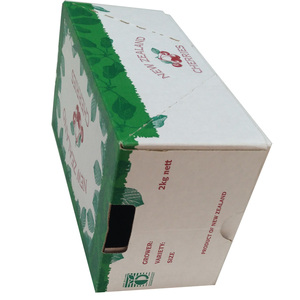 Green hard drive case packing box with lid for vegetables packing