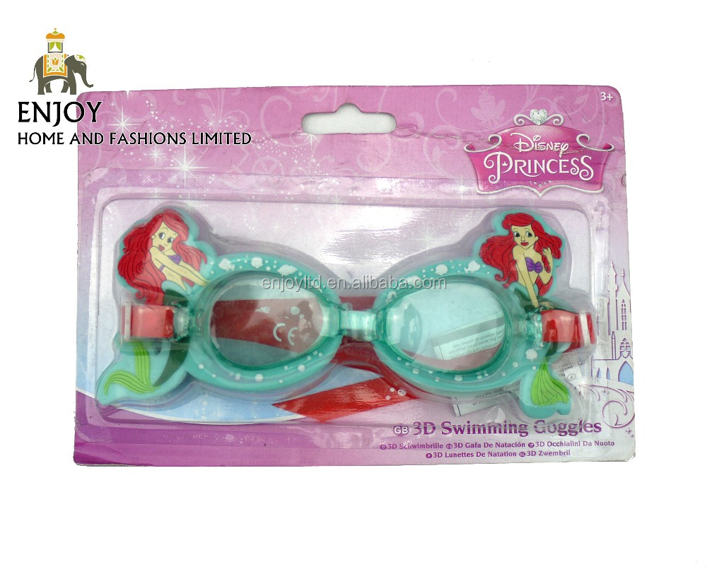 New design kids print designs funny swimming goggles