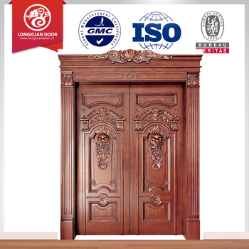 Wooden double doors design catalogue for Door design catalogue