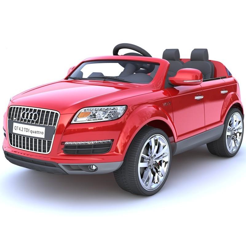 vente chaude audi q7 autoris batterie exploit voiture jouet pour enfant enfants porteurs. Black Bedroom Furniture Sets. Home Design Ideas