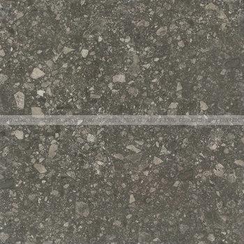 Ebro Factory Grey Porcelain Glazed Terrazzo Floor Tiles Italy For