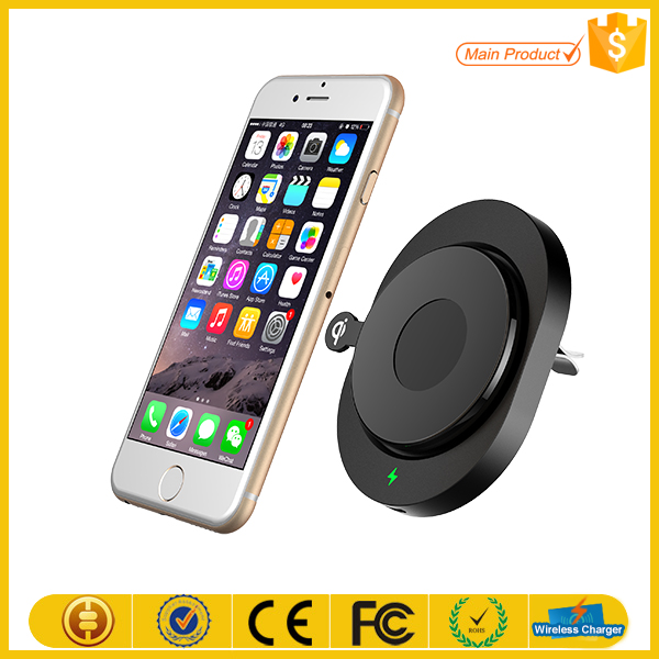 qi wireless car charger holder charging pad transmitter charger buy qi wireless car charger. Black Bedroom Furniture Sets. Home Design Ideas