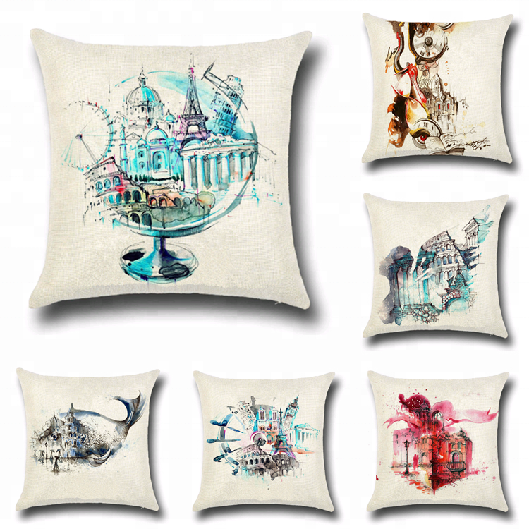 DIY design sublimation printing bed sofa decorate pillow cases cushion covers