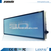 Animated Led Display Programmable LED Moving Message Window Sign Board