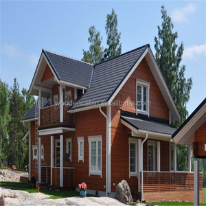 New design wood house finland with cheap price