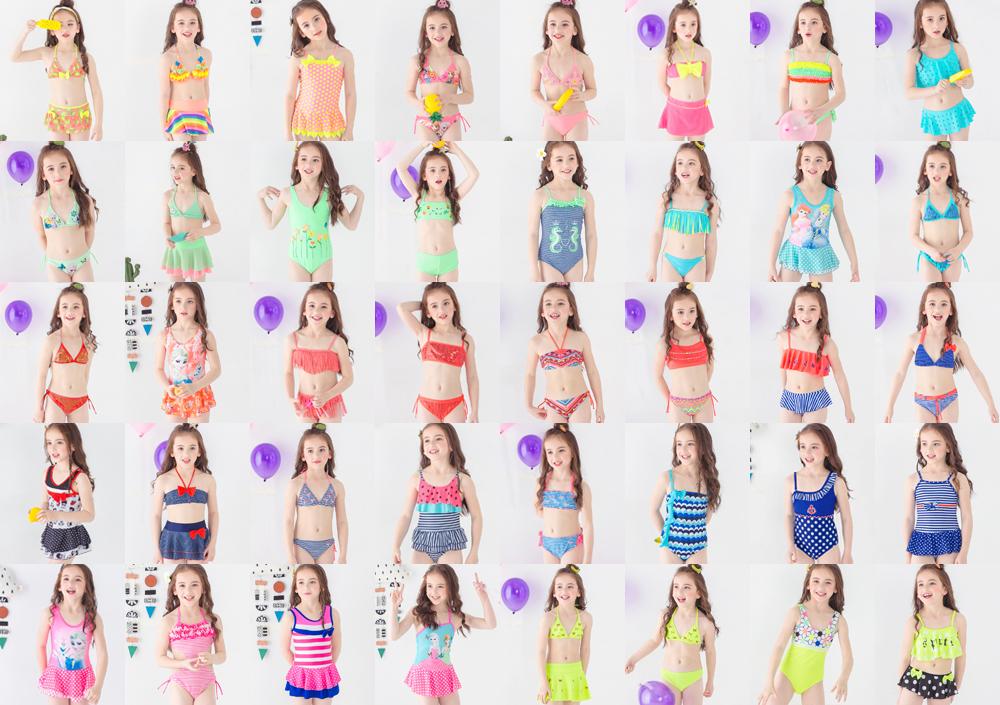 String Meisje Badmode Kid 12 Jaar Oud Badpak Kind String Tiener Bikini