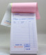 Best seller staple carbonless paper triplicated delivery form with 6 digits numbered and perforated