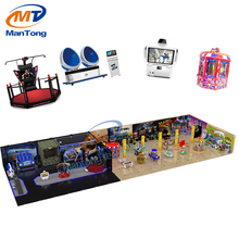Popular customized design kids playground equipment for game zone game center fun land arcade room