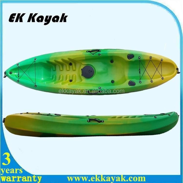 Rotomolded polyethylene cheap plastic fishing river kayak for Cheap fishing kayaks