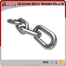 U.S. Welded Chain,small stainless steel welded link chain 304 316 made in China