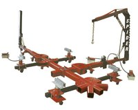 Champ Spider Portable 10-ton,2-tower,4-clamp Frame Straightener W ...