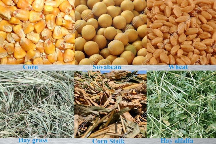 raw materials of animal feed