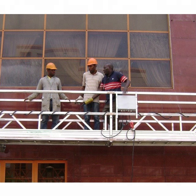 aluminum electric Hanging Wall Scaffolding Systems