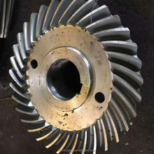 aluminum big spiral Bevel Gear