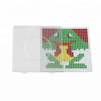 3D Puzzle Hobby Diy Crafts Plastic Perler Beads Pegboard for Toys china supplier