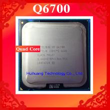 Lifetime warranty Core 2 Quad Q6700 2.66GHz 8M Four nuclear threads desktop processors CPU Socket LGA 775 pin Computer