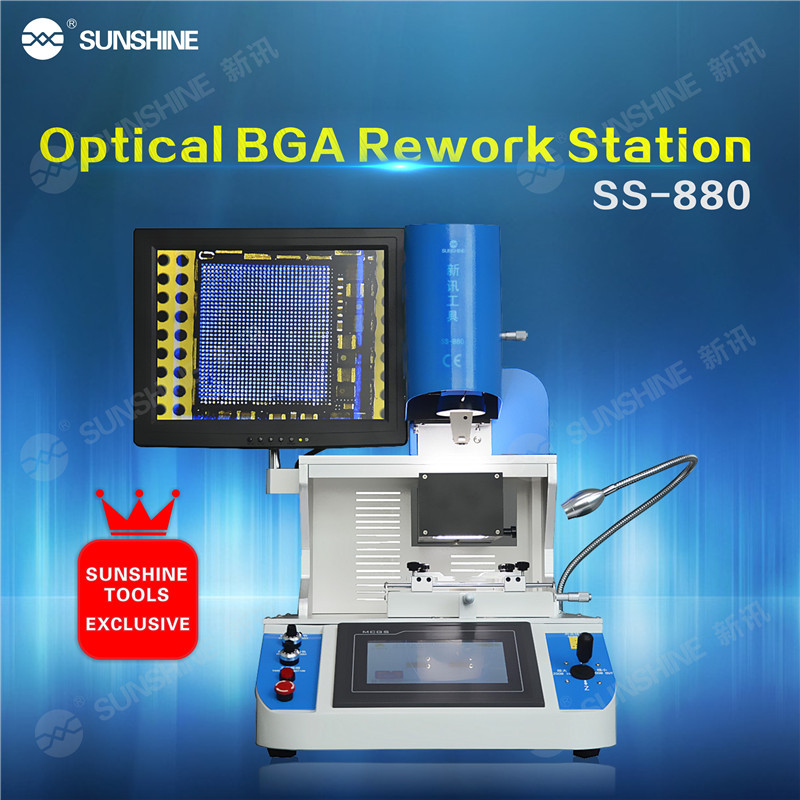 BGA Rework Station SS-880 Auto Mobile Phone Ic Repair Tools For Ps3 Console Repairing