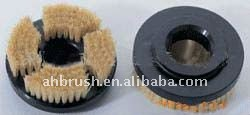 nylon filament grinding machine brushround and oval chimney brushes