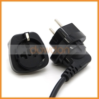 10A 250V Germany AC Power Supply Cable Adapter Cord to EU Plug Apdater