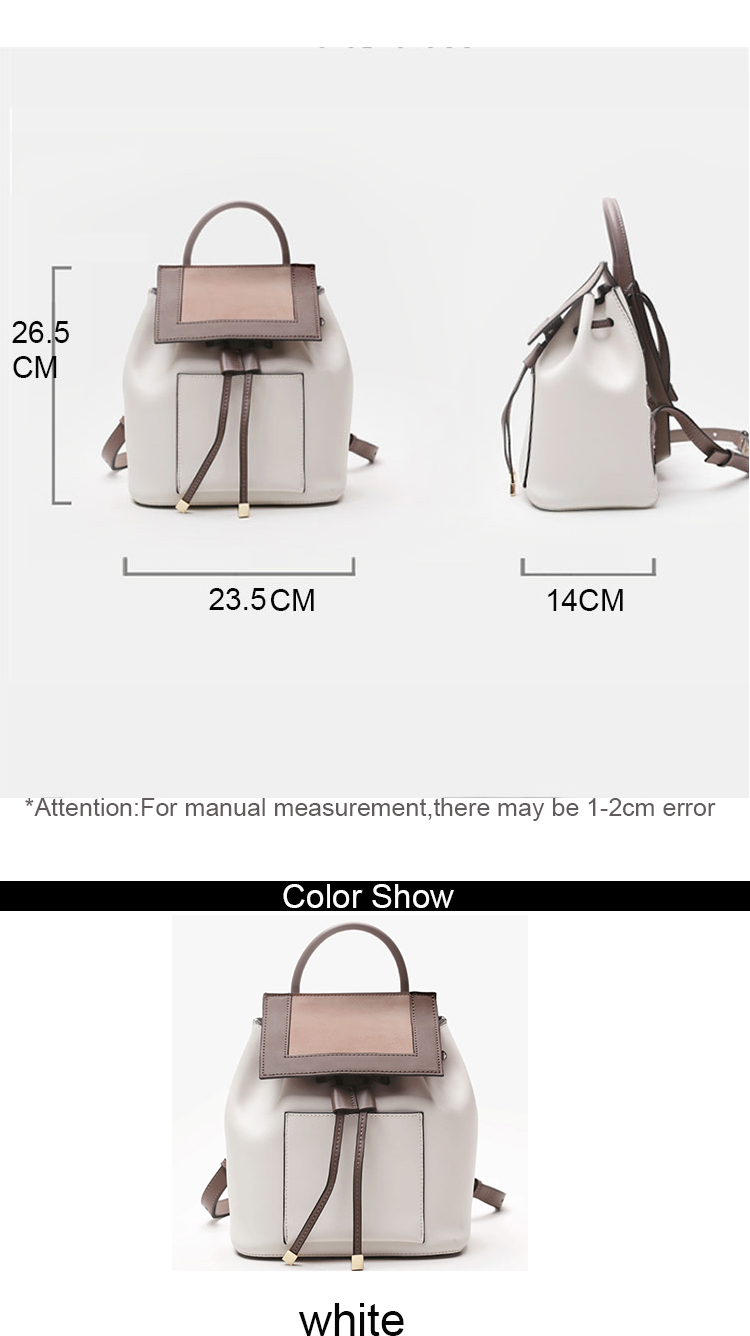 oem stylish drawstring waterproof travel bags designer pu leather backpack for ladies