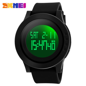 Good quality skmei 1142 skmei digital watch instructions manual with silicone watch strap