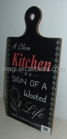 Vintage Kitchen Decor Wooden Wall Plaque