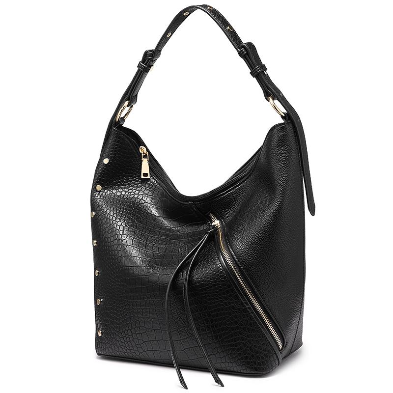 REALER женские сумки из мягкой искусственной кожи сумки на плечо для дамы с короткими ручками модная сумка через плечо высокого качества(Китай)