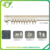 ZC-046 double curtain rod & curtain rod accessories factory, aluminum curtain rail
