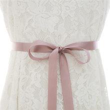 Бриллиантовое платье подружки невесты пояс ручной работы хрустальный свадебный пояс Стразы пояс невесты розовое золото для свадебных аксе...(Китай)