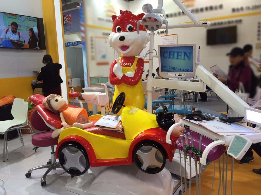 Q2 Dental Chair Exhibition (kid Dental Unit Dental Chair)