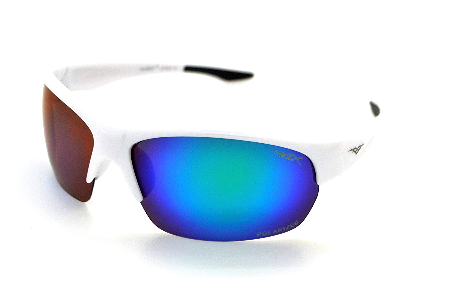 eb30c95d45db Get Quotations · VertX Polarized Mens   Womens Sport Wrap Sunglasses  Cycling Running w Microfiber
