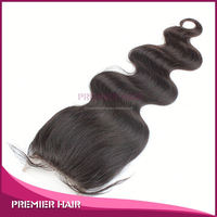 brazilian hair remy lace front closure piece