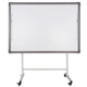 Riotouch interactive white board mobile stand with arm for projector