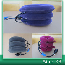 Air Cervical Neck Traction Device 3 Layers Relax Soft Air Neck Massager Adjustable Inflatable Pain Relief