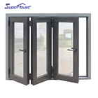 double glazed folding windows aluminium window door supplier