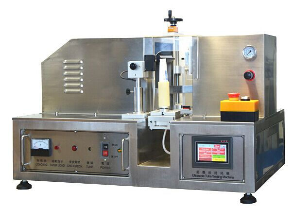 Factory Price Ultrasonic Plastic Aluminum Tube Cosmetic Tube Sealing Machine
