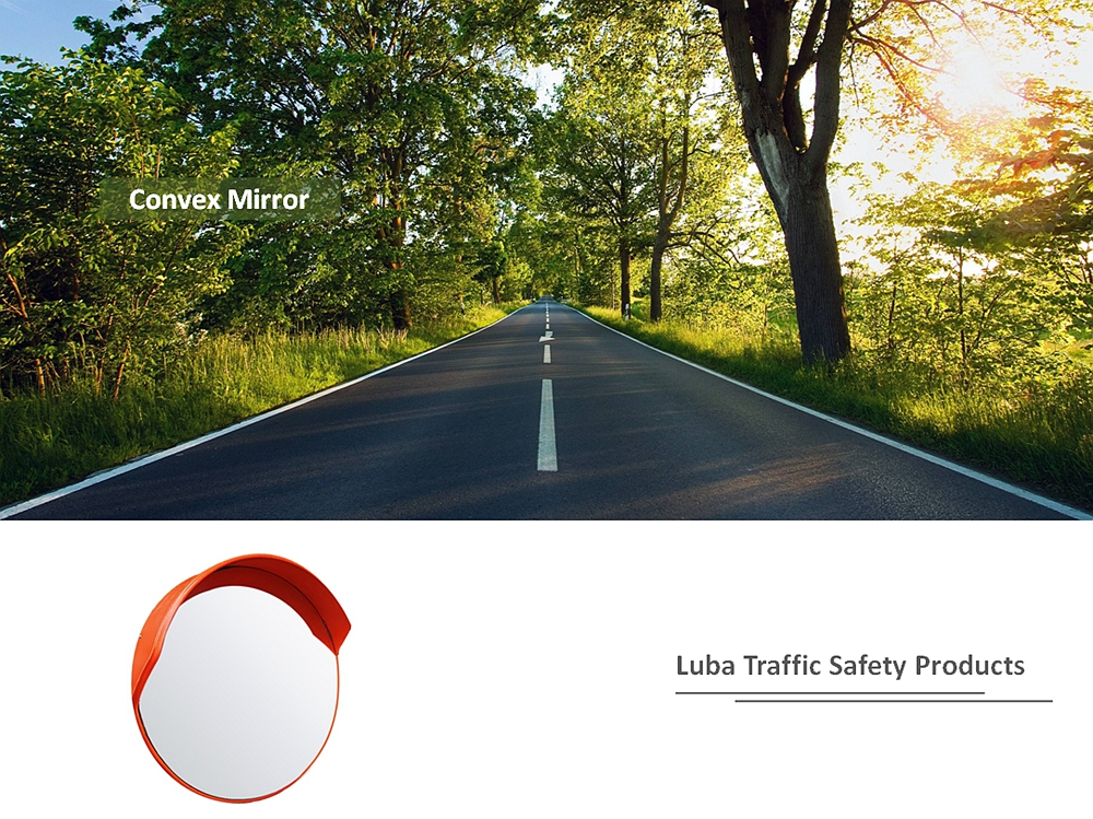 45cm Outdoor Road Safety Convex Mirror