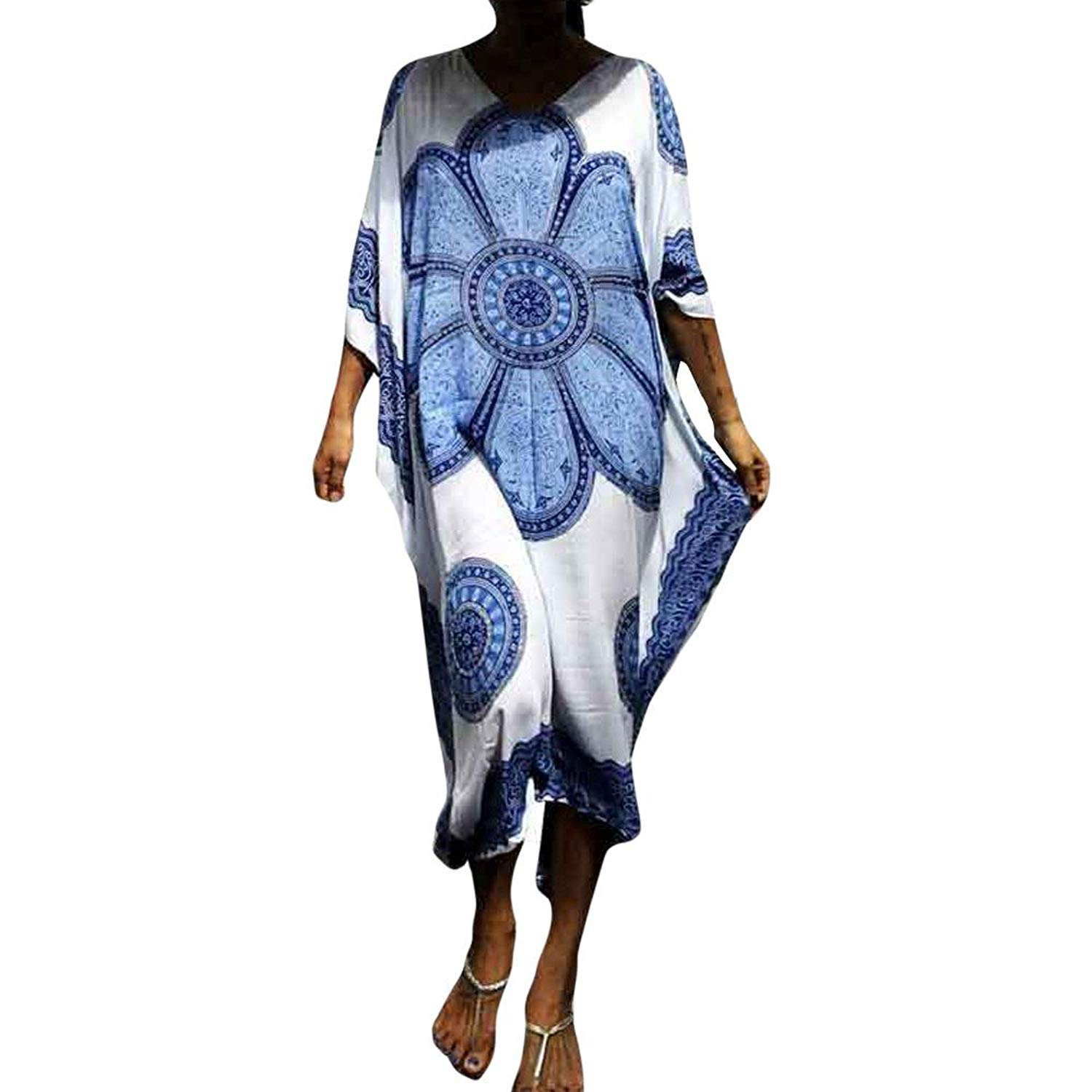 Swimming Beach Tunic And Dress Swim Suit Cover Up Swimsuits Wear Womens Swimsuit Female Cotton Printed Skirt Sexy Acetate Print Cover-ups