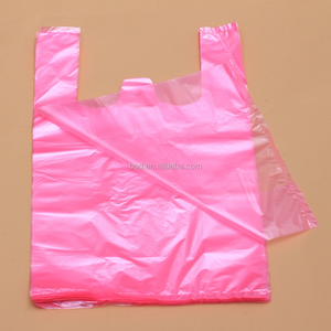Polyethylene PE heat sealing plastic T shirt bag