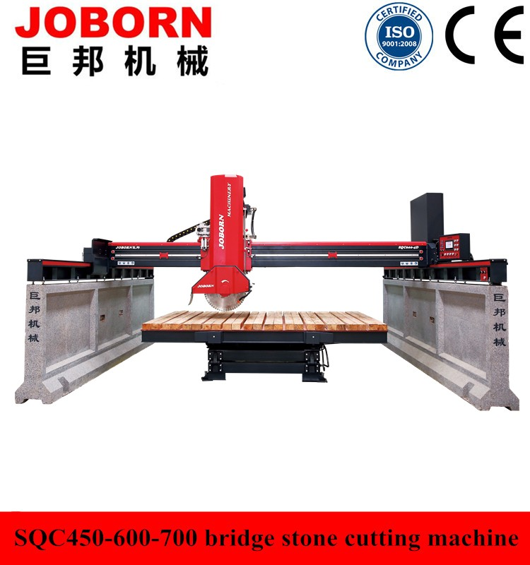 Joborn SQC600-4D new stone bridge cutting machine for granite marble