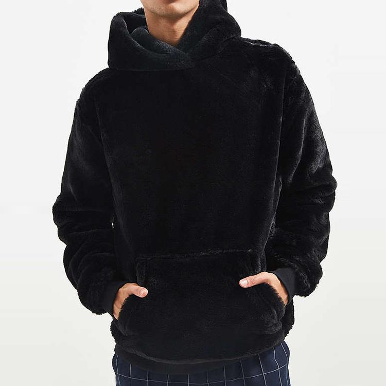 Hoodies de pulôver de lã sherpa para inverno 2019