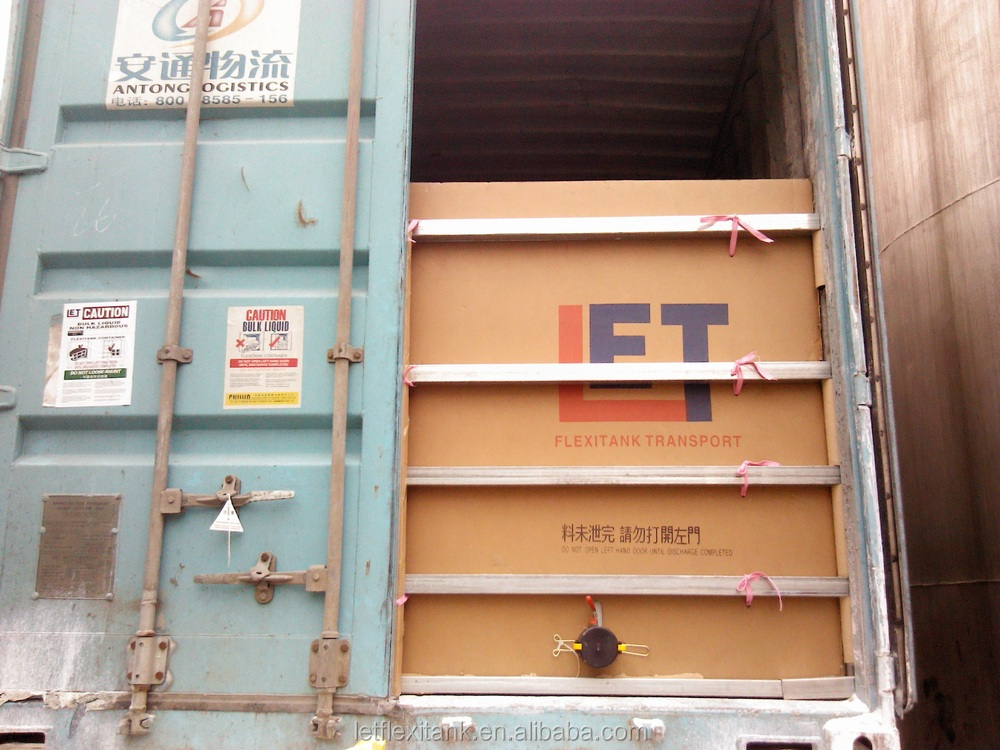 Flexitank Packing Refined Palm Oil In 20ft Container