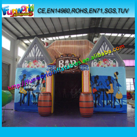 Best Selling Moving Inflatable Pub , Inflatable Bar For Party