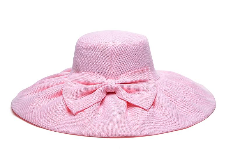 607fce85a61b2 Buy Kentucky Derby Wedding Church Party summer beach sun hats paper straw  wide brim hats women hats women sun hats pink in Cheap Price on  m.alibaba.com