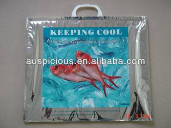 Pattern Printed Aluminum Foil Thermos Cooler Bag Keep Cool Plastic