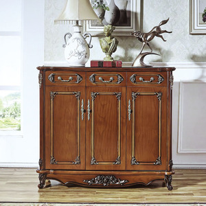 Romantic bedroom furniture shoe cabinet on sale