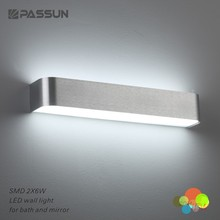 PASSUN factory sale up down wall light led indoor 12w led mirror light