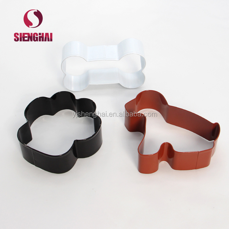 Stainless steel colorful bone Shape Cookie Cutter