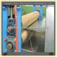 home appliance continuous color coating line with three coating three baking